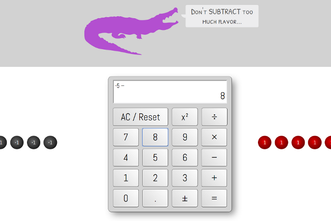 Preview of The Calculator Gator