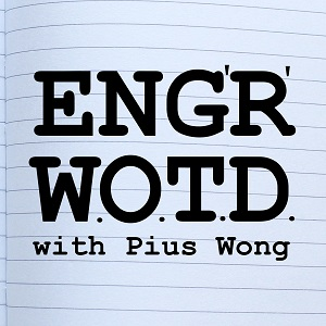 Logo of the Engineering Word Of The Day podcast
